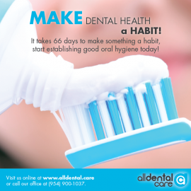 Make dental health a habit!