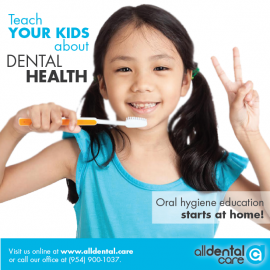 teach YOUR KIDS about DENTAL HEALTH