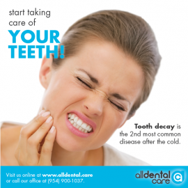 Tooth decay is the 2nd monst common disease after the cold